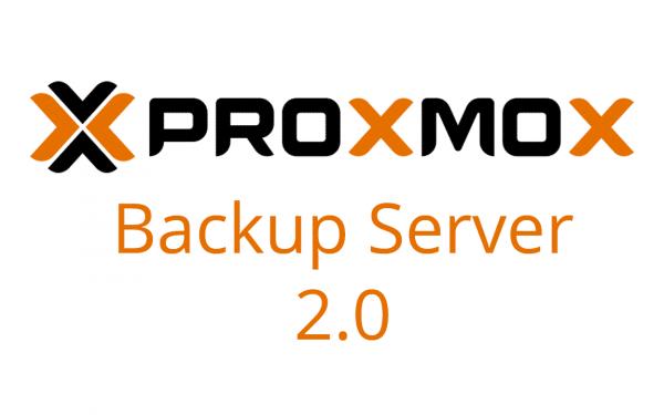Proxmox Backup Server 2.0